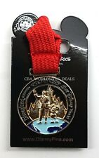 NEW Disney Parks 2016 Coast to Coast Disneyland Resort WDW Marathon Medal Pin