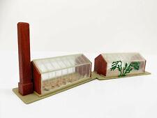 2 Greenhouses Nursery N Gauge