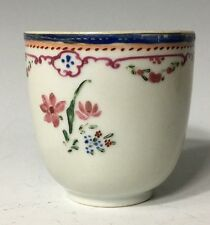 Antique (1750) Century Chinese Export TEACUP flowers