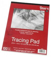 Darice 9-Inch-by-12-Inch Tracing Paper, 100-Sheets, New, Free Shipping