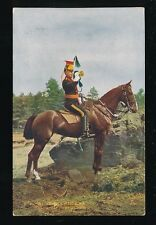 Military 5th ROYAL IRISH LANCERS Trumpeter Tuck #9367 PPC