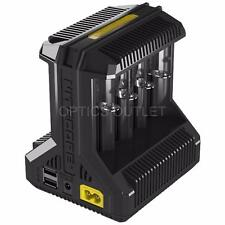 Nitecore i8 Multi-slot Intelligent Universal Battery Charger 18650 26650 16340