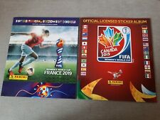 Panini Womens World Cup 2015 & 2019  Empty Albums