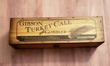 Primos Gibson Turkey Call and Gobbler Replica Box Call Nwtf #0927 of 1641