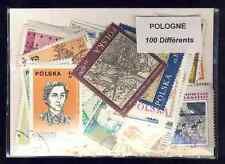Pologne - Poland 100 timbres différents