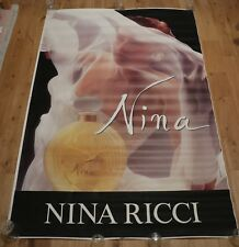 More details for original 80's vintage poster nina ricci dominique issermann 45