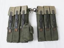 #P1 SPÄTKRIEG Wehrmacht WW2 MP40 PAAR Magazintasche MP38/40 MP Magazintaschen
