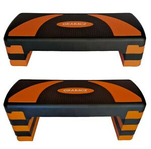 Aerobic Stepper Adjustable Step Home Fitness Exercise Yoga Cardio