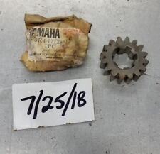 NOS OEM Yamaha 2nd Transmission Gear 1980-1981 YZ250 3R4-17121-00
