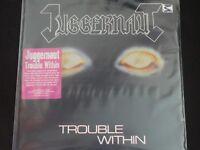 "Juggernaut ""Trouble Within"" Original LP. 1st pressing w/insert. VERY RARE !"