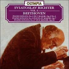 "Classical CD ""Beethoven Piano Sonatas Nos. 3, 4, 27"" Richter Olympia OCD 336"