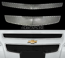 08-12 Chevy MALIBU CHROME Snap On Grille Overlay Grill Covers Front Vent Inserts