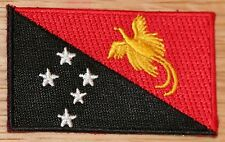 PAPUA NEW GUINEA Country Flag Embroidered PATCH