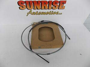 GM 15522539 PARKING BRAKE CABLE 1988 1989 CHEVROLET GMC C3500 K3500 1 TON **C-4*