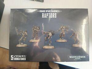 Chaos Space Marines Raptors Games Workshop Warhammer 40000 Brand New 99120102087