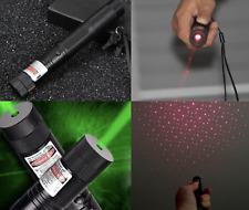 10 millas lápiz puntero láser militar Focus Lazer antorcha Pen Luz Energía Verde Rojo