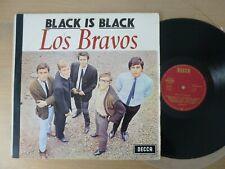 Los Bravos – Black Is Black   German 1st press 1966 LP  Vinyl  vg+