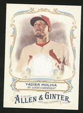 2016 Topps Allen & Ginter game used jersey St Louis Cardinals