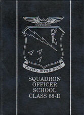 Yearbook SOS Squadron Officer School Class 88-D 1988