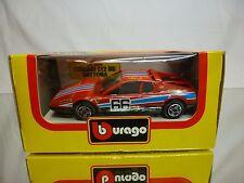 BBURAGO 4106 FERRARI 512 BB DAYTONA - No 66 - RED 1:43 - GOOD IN BOX