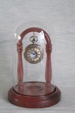 POCKET WATCH GLASS DISPLAY DOME STAND MAHOGANY HARDWOOD OTHER WOODS AVAILABLE
