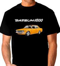 DATSUN  1600    SSS  510  COUPE     BLACK  T-SHIRT  TOP QUALITY