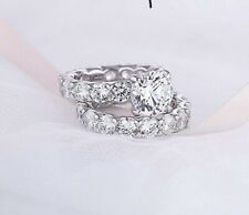 4 Carat Real Diamond Ring VVS
