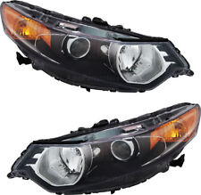 HID Headlights Headlamps NEW Pair Set (Left & Right) for 09-14 Acura TSX