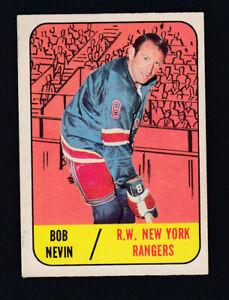 1967-68 TOPPS HOCKEY CARD #28 B. NEVIN