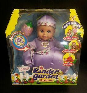 VIOLET Kinder Garden Babies Baby Doll 2005 BRAND NEW FACTORY SEALED