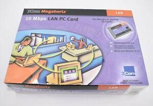 3Com Megahertz 10 Mbps LAN PC Card 3CCE589ET Ethernet PCMCIA Adapter New Sealed