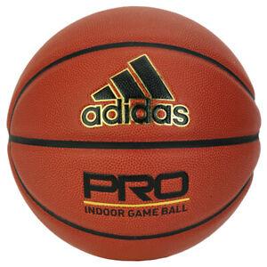 "Adidas New Pro Basketball Game Ball Indoor FIBA Size 7 / 29.5"" S08432"