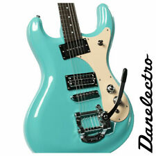Danelectro Electric Guitar The 64 Reissue Bigsby Double Cutaway Humbucker Aqua