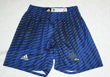Men Blue Adidas University of Delaware Athletic Shorts Size Adult S