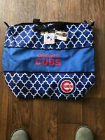 MLB Chicago Cubs Large Expandable Tote Bag Logo Brand