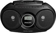 Philips Portable CD Player with Radio, headphone jack (3.5 mm) Black
