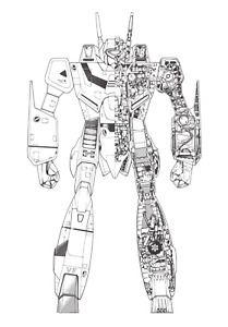 Robotech VF1J Digital Promo NFT Series 1 Mint# 13615 WAX Anime Blockchain