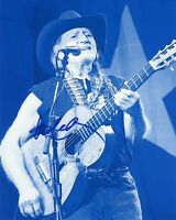 """~~ WILLIE NELSON Authentic Hand-Signed """"Always On My Mind"""" 8x10 photo D~~"""