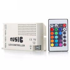 24 Key Music IR Remote Controller Sound Sensitive for RGB 5050 LED Strip Light