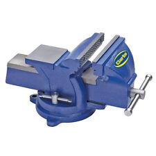 Clarke Metallarbeit Drehgelenk Bank Schraubstock 5 125mm Blau CVR125BL