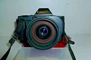 CANON T80 WITH 35-70 POWER DRIVE LENS. NICE CLEAN CAMERA BUT NOT FUNCTIONING.