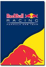 "Red Bull Racing Formula 1 Team Logo Fridge Magnet Size 2.5""x 3.5"""
