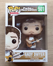 Funko Pop Parks And Recreation Andy Dwyer + Free Protector