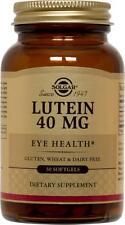 Solgar Lutein 40mg 30 Softgels