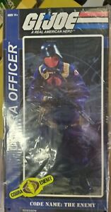 SIDESHOW GI JOE SIXTH SCALE 1/6 cobra officer new in sealed box