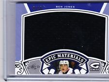 15-16 2015-16 LEAF GENESIS BEN JONES EPIC MATERIALS PURPLE JERSEY /10 EM-08
