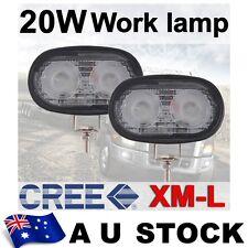 2X 20W CREE LED FLOOD WORK LIGHT Bike Boat 4WD JEEP TRUCK DRIVING LAMP AU SHIP
