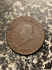 1915 Mexico Oaxaca 5 Centavos Lot#Q4586