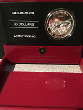 Canada 2006 $30 Sterling Silver Coin - Dog Sled Team - Limited Mintage
