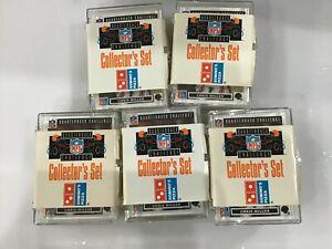 1991 Upper Deck Dominos Pizza Quarterback Challenge Lot of 18 Factory Sets